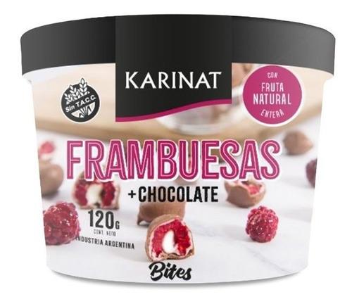 Bites Frambuesas Karinat, Frambuesas Bañadas En Chocolate