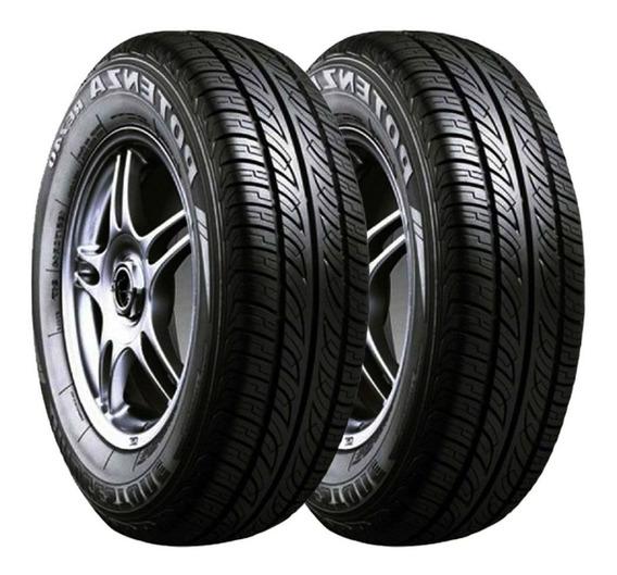 Paquete 2 Llantas 185/70 R13 Bridgestone Potenza Re740 86t