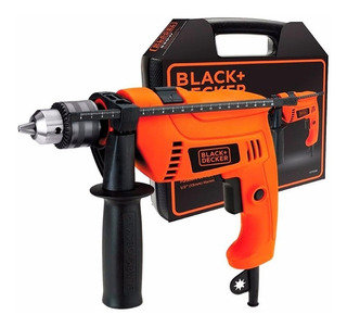 Taladro Percutor Black + Decker 13mm 650w Maletin Hd650k Ar