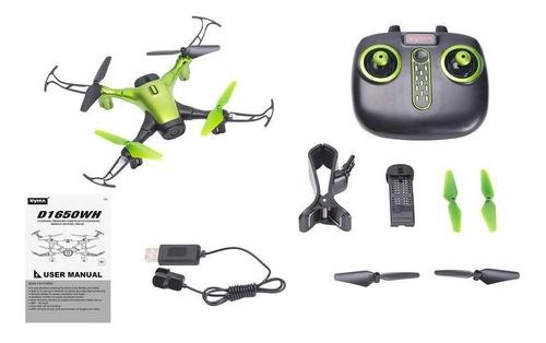 Sky Phantom Drone With Wi-fi And Hd 480p Camera - Green