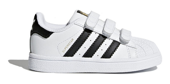 Zapatillas adidas Originals Moda Superstar Cf I Bebe Bl/ng