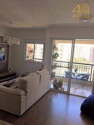 Oportunidade Club Life Morumbi- 70m²- 2 Dorm.1 Suite 1 Vaga Andar Alto - Ap1296