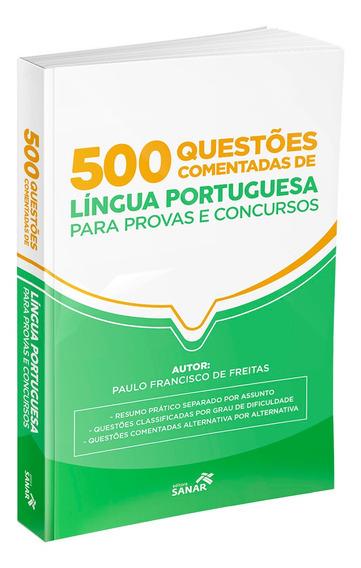 Livro 500 Questões De Língua Portuguesa Para Concursos