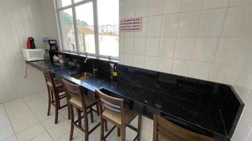 Sala Comercial Para Alugar, 13 M² Por R$ 600/mês - Centro - Santos/sp - Sa0225