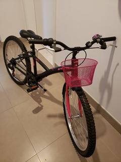 Bicicleta Btwin Poply 500 (nova 749r$, Vendo Usada 399r$)