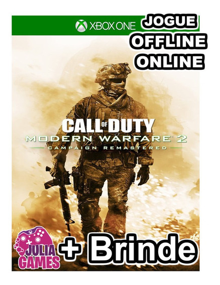 Call Of Duty Modern Warfare 2 Xbox One Digital + Brinde