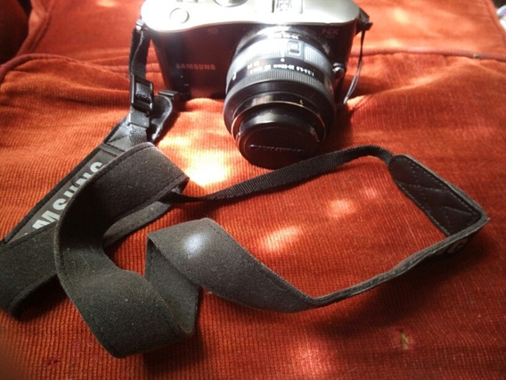 Cámara Fotográfica Semi Profesional Samsung Nx100