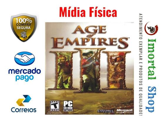 Age Of Empires 3 Gold Edition Dublado Mídia Física Pc