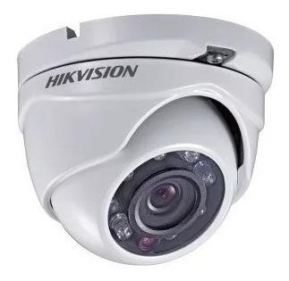 Câmera De Segurança Dome Metal Hd Tvi 720p 1mp Hikvision