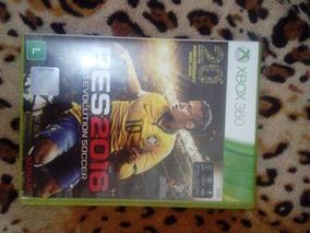 Jogo Pes 2016 Original Xbox 360