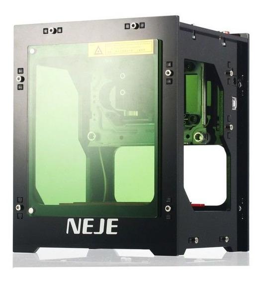 Máquina Gravação Impressora Cnc 1500mw Mini Laser Neje