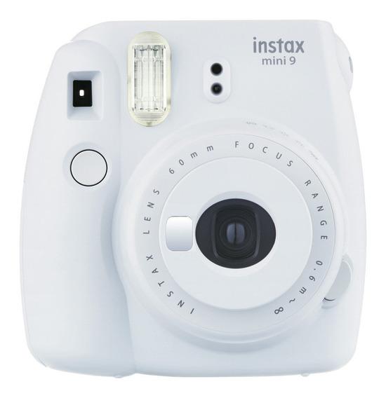 Câmera Instantânea Mini 9 Fujifilm Instax Branco Gelo