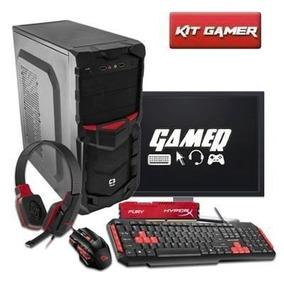 Pc Gamer Completo A4 6300, Teclado , Mouse E Headset Gamer