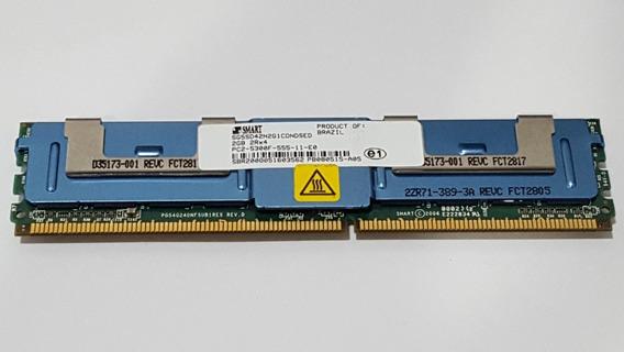 Memória 2gb 2rx4 Pc2-5300f - Ddr2 - Smart - Exclusiva Para Servidores