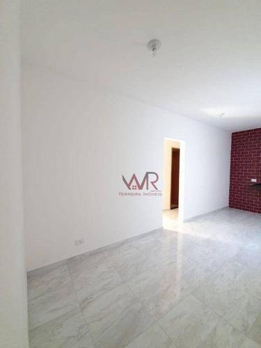 Imagem 1 de 16 de Apartamento À Venda, 40 M² Por R$ 260.000,00 - Vila Carrão - São Paulo/sp - Ap1052