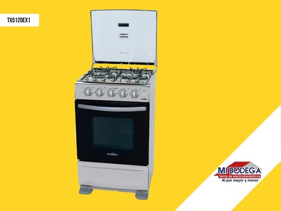 Cocina Mabe 5120 Cromada 4 Quemadores