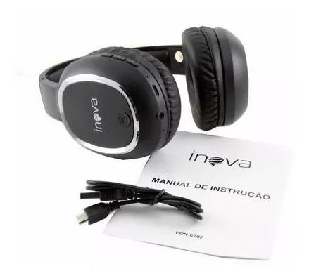 Fone De Ouvido Bluetooth Estéreo Sem Fio - Fon-6702