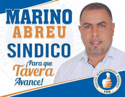 Marino Abreu Alcalde, Síndico, 2020 De Tavera, La Vega, Rd