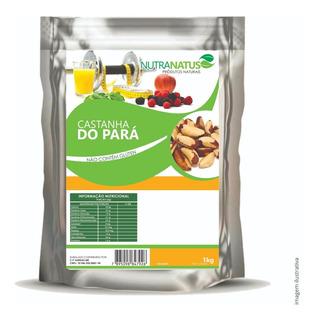 Castanha Do Pará Sem Casca 1kg Inteira Média Promoção