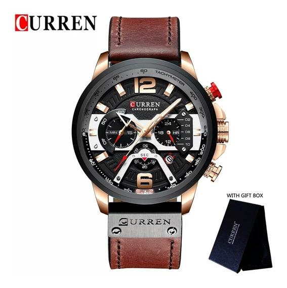 relógios Masculinos Curren Original Mais Caixa Original
