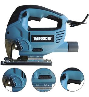 Serra Tico-tico 850w Ws3772 Wesco Profissional Com Led 110v