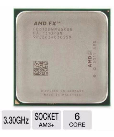 Amd Fx 6100 Black Edition 6 Core 14mb Fd6100wmw6kgu + Cooler