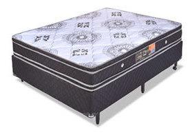 Somier Alta Densidad Espuma Soporte Ortopedico Pillow Top