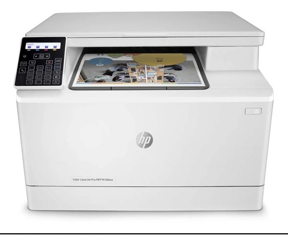 Impressora Multifuncional Laser Hp Modelo M180nw