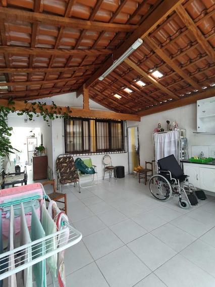 Casa 2 Dormitórios Mobiliado No Canto Do Forte, Praia Grande - V726