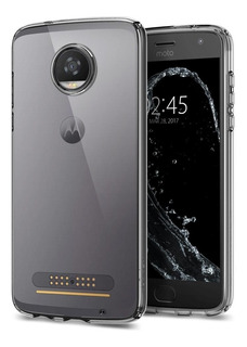 Funda Moto Z2 Play Liquid Crystal Tpu Flexible Spigen Origin