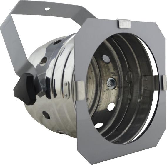 Refletor Par 56 Curto Prata Para Lampada Par 56 300w Pro Nf