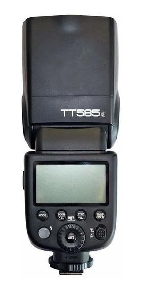 Flash Speedlite Godox Tt585s Alta Velocidade Ttl Para Sony