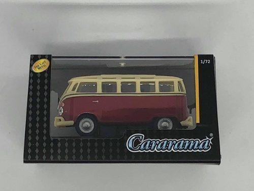 Cararama Vw Volkswagen Combi Samba Vino/beige 1:72
