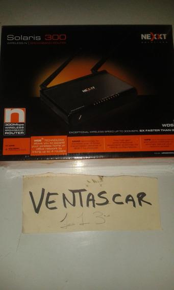 Router De 300 Mbps Nexxt Nebula Valor 20 Verde$s