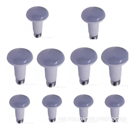 Kit 10 Lampada Bulbo Led 9w Bivolt Com Nota Fiscal