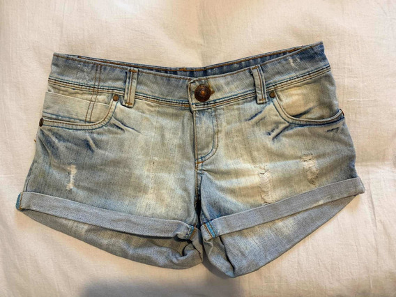 Shorts De Jeans Ossira No Tucci No Rapsodia
