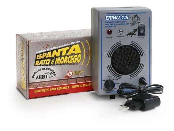 Repelente Ultrassônico Espanta Rato E Morcego 150 M² - Zebu