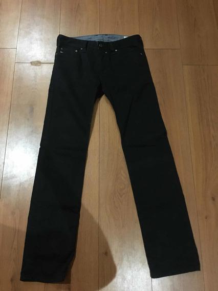 Pantalón Negro Diesel Modelo Safado-a
