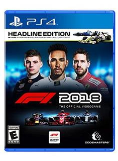 F1 2018 Headline Edition Playstation 4
