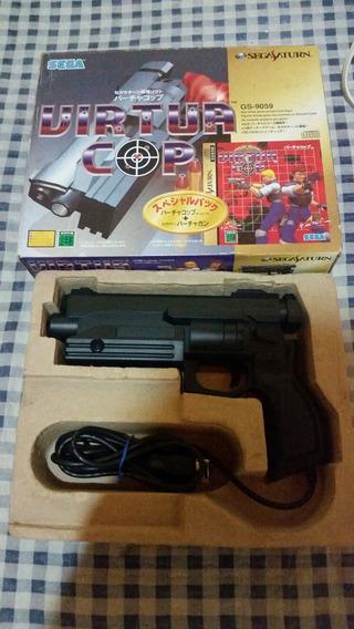 Pistola Virtua Cop Sega Saturno Na Caixa