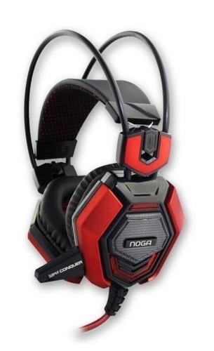 Imagen 1 de 10 de Auriculares Gamer Noga Conquer Headset Pc Potente+microfono