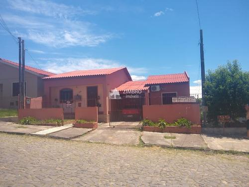 Casa 02 Dormitórios Para Venda Em Santa Maria No Bairro Lopes Próximo Ao Quarteis Do Boi Morto - 996444