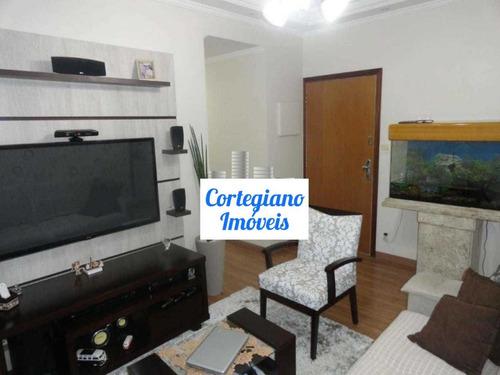 Apartamento 2 Dormitórios No Boqueirão - Santos