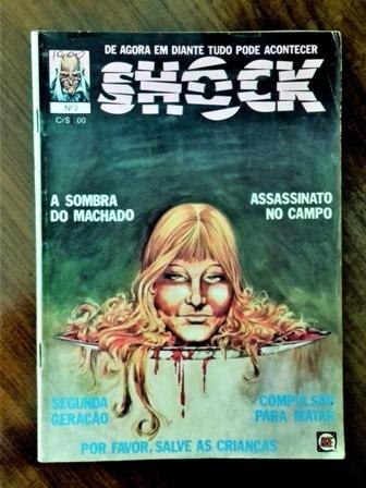 Shock Nº 2 -rge-1977 - Histórias De Terror -ótima