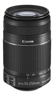 Lente Canon Efs 55 -250 Estabilizador Usado 10/10