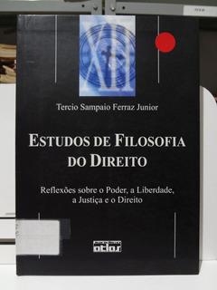 Livro Estudos De Filosofia Do Direito Tercio Sampaio Ferraz