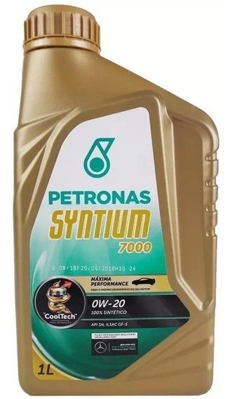 Óleo De Motor 0w20 Syntium 7000 Petronas Síntetico 1 Litro
