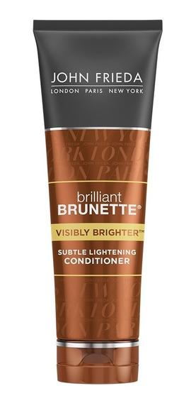 Acondicionador Brilliant Brunette V. Brighter John Frieda