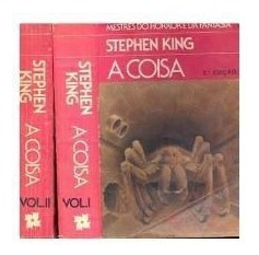 Livro- Stephen King- A Coisa - 2 Volumes- Raro- =brinde