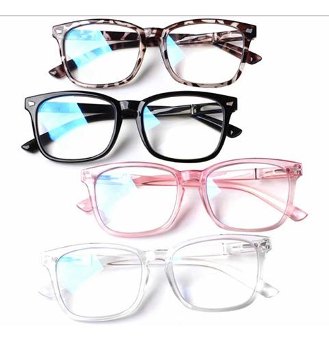 Imagen 1 de 6 de Lentes Anteojos Bloqueo Uv Anti Luz Azul Gafas De Descanso